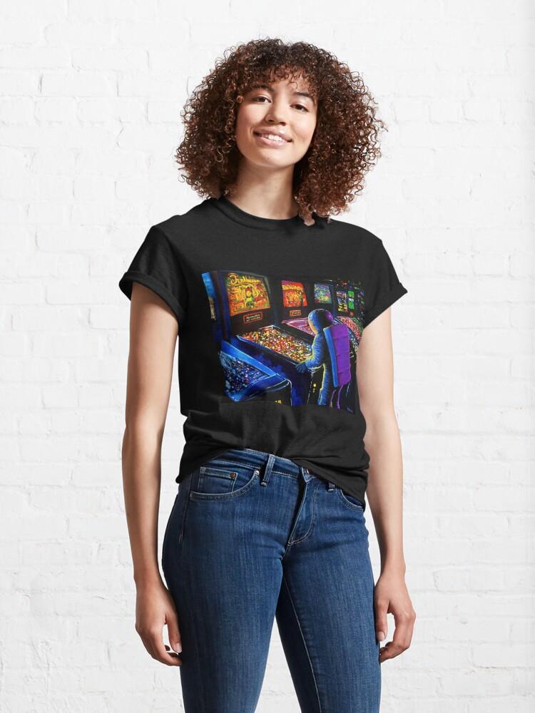 Alternate view of Pinball Wizard Classic T-Shirt