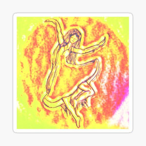 Dance with Joy Sticker