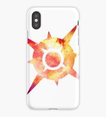 Pokémon Sun Logo Space iPhone Case/Skin