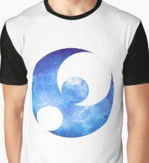 Pokémon Moon Logo Space Graphic T-Shirt