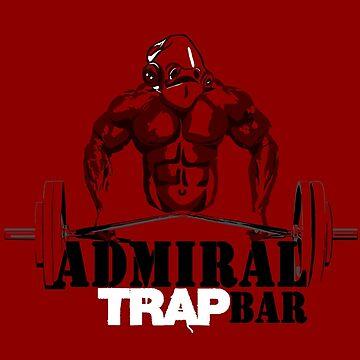 Admiral Trapbar by scribsisartsy