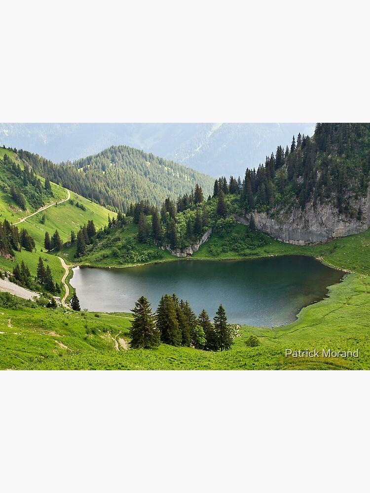 Arvouin lake by patmo