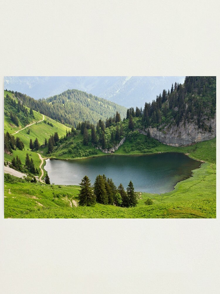 Alternate view of Arvouin lake Photographic Print
