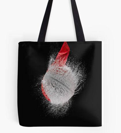 Red Balloon Pop Tote Bag