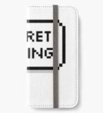 Geheime Geschwister iPhone Flip-Case/Hülle/Klebefolie