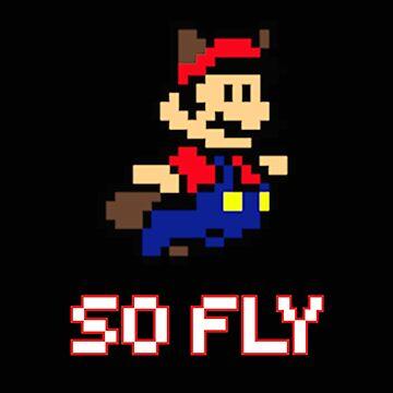 Mario is So Fly by JKDesignLtd