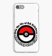 pokemon ash ketchum iPhone Case/Skin