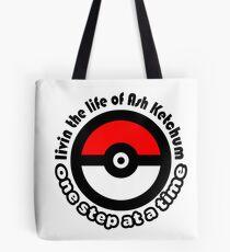 pokemon ash ketchum Tote Bag