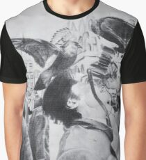 Charcoal Photography Graphic T-Shirt