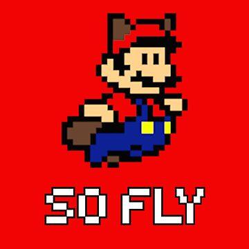 Mario is So Fly 2 by JKDesignLtd