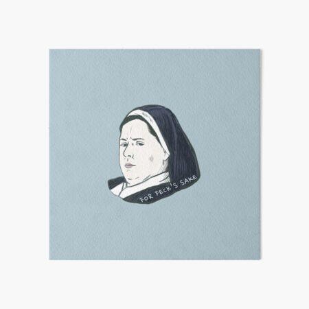 Derry Girls - Sister Michael Art Board Print