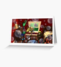 Bubbles bubbles everywhere. Greeting Card
