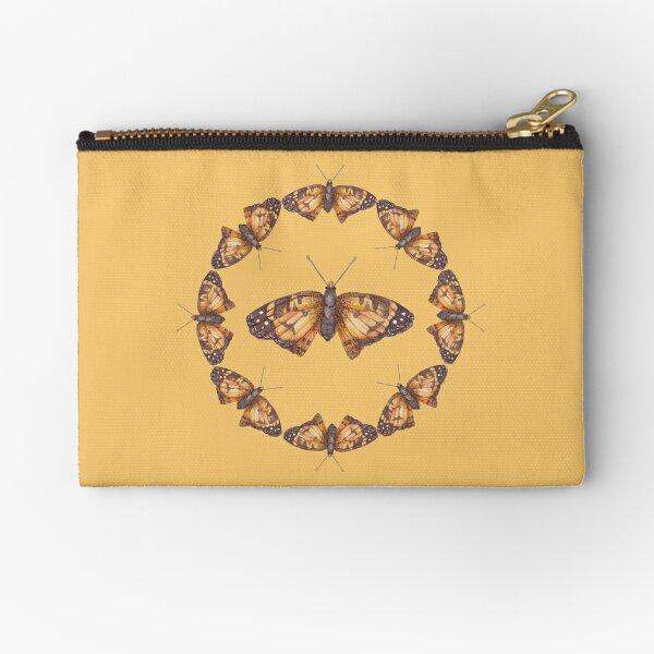 Butterfly Mandala Collection Zipper Pouch