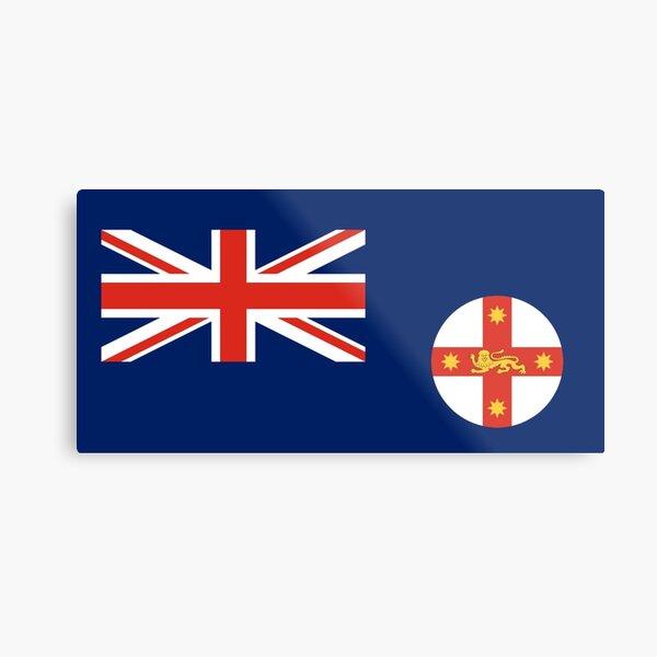 New South Wales Flag Metal Print