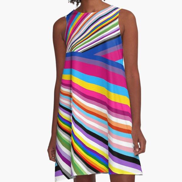Pride flags A-Line Dress