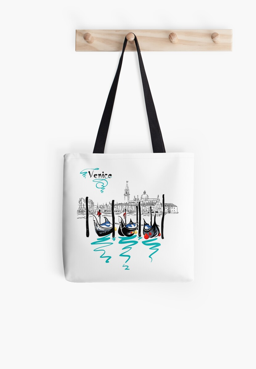 Gondolas in Venice lagoon, Italia by kavalenkava