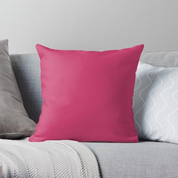 Raspberry Sorbet Throw Pillow