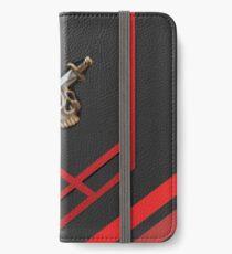120 Slayer Cape Pattern - Runescape iPhone Wallet/Case/Skin