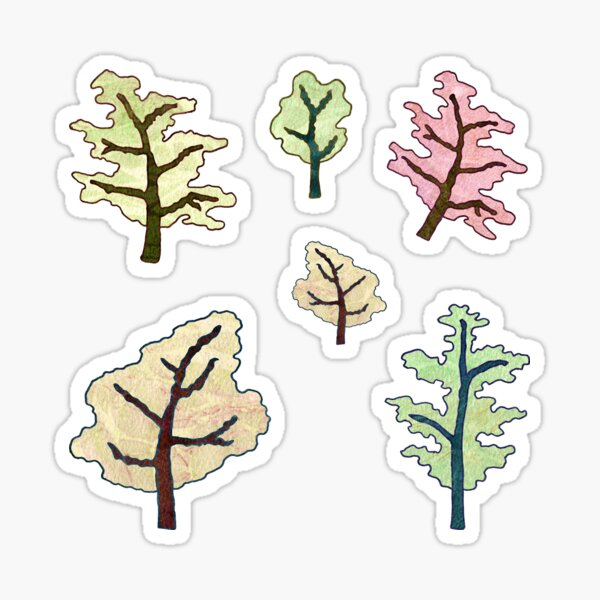 Forest Spreading into the Distance Sticker