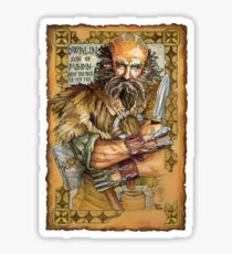 Dwalin Sticker