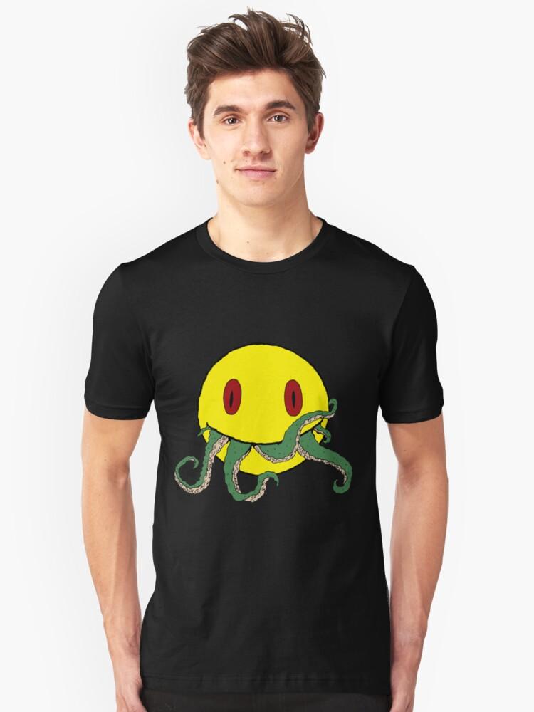 Cthulu smiley ii Unisex T-Shirt Front