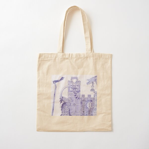 M.I. #121 |☽| Attack Aftermath Cotton Tote Bag