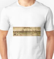 Hamburg Vintage map.Geography Germany ,city view,building,political,Lithography,historical fashion,geo design,Cartography,Country,Science,history,urban T-Shirt