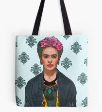 Frida Kahlo-Trendy V.2 Tote Bag