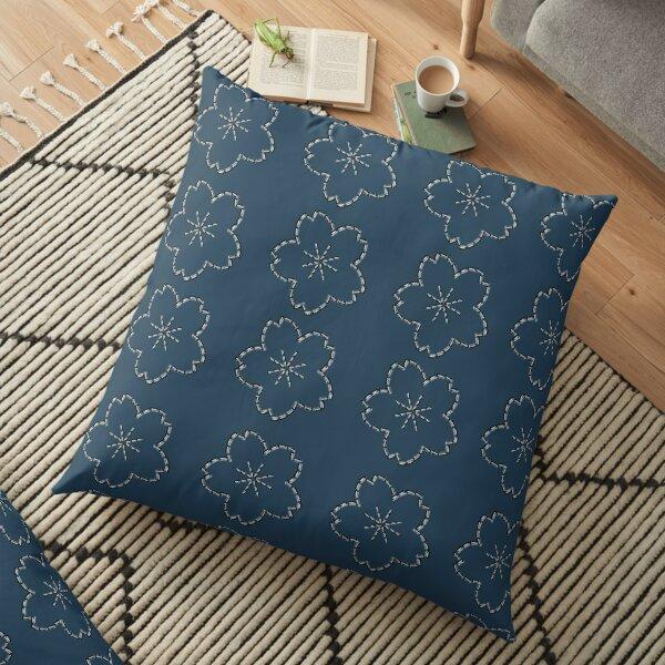 Sashiko needlework 10 Floor Pillow