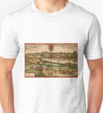 Grodno Vintage map.Geography Belorussia ,city view,building,political,Lithography,historical fashion,geo design,Cartography,Country,Science,history,urban Unisex T-Shirt