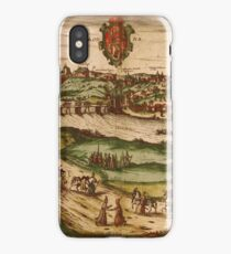 Grodno Vintage map.Geography Belorussia ,city view,building,political,Lithography,historical fashion,geo design,Cartography,Country,Science,history,urban iPhone Case/Skin