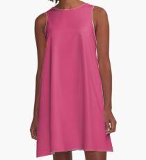 Raspberry Sorbet A-Line Dress