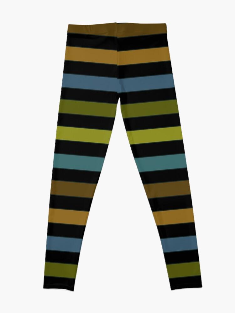 Alternate view of Beautiful stripes 2 Leggings