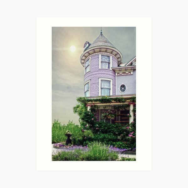 A Victorian Seaside Cottage Art Print