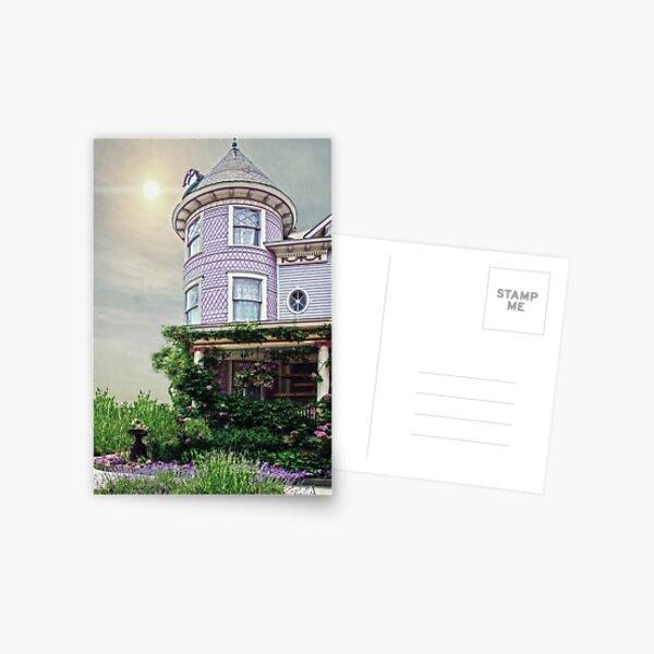 A Victorian Seaside Cottage Postcard