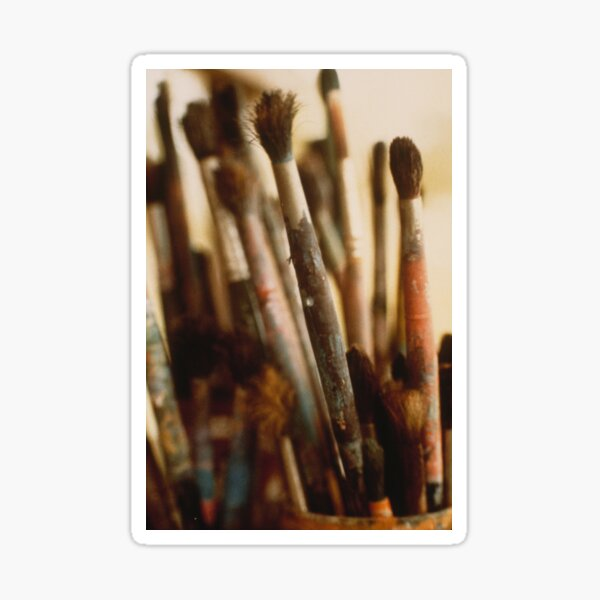 The Brushes Sticker