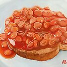 baked beans on toast by yobund