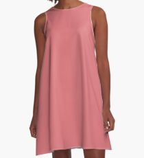 Tea Rose A-Line Dress