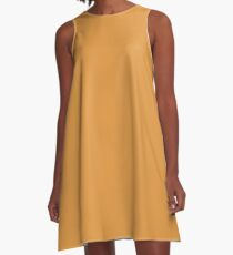 Butterscotch  A-Line Dress