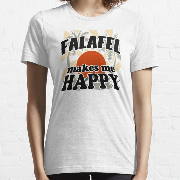 Falafel Makes Me Happy Essential T-Shirt