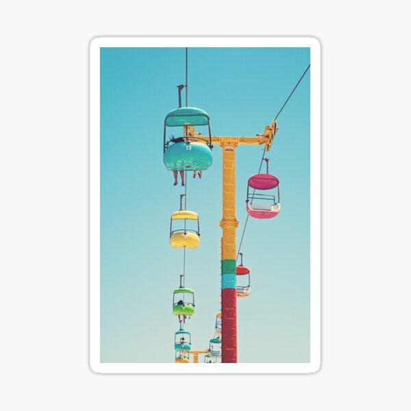 Gondolas - Santa Cruz Sticker