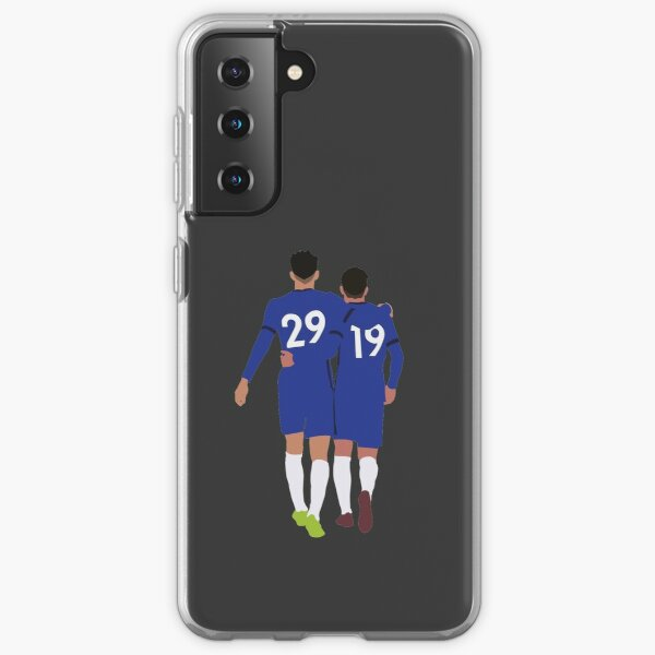 Kai Havertz Mason Mount Chelsea Future Duo Samsung Galaxy Soft Case