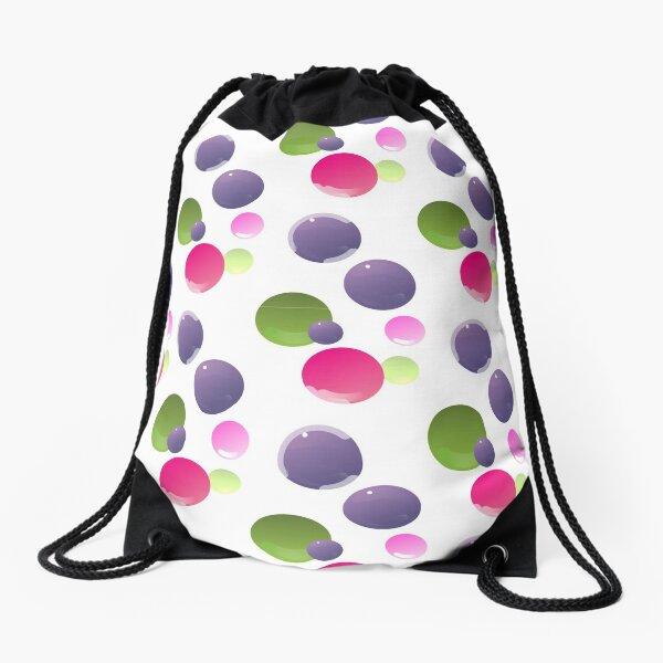 Bubbles in a Bubble Drawstring Bag