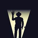 Freddy Nightmare on Elm Street Duvet by Carl Huber