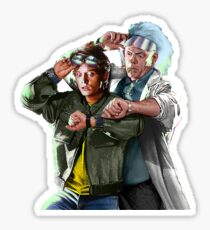 Doc and Mharti Sticker