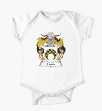Luna Coat of Arms/Family Crest One Piece - Short Sleeve
