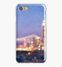 Bay Bridge Glow - San Francisco iPhone Case/Skin