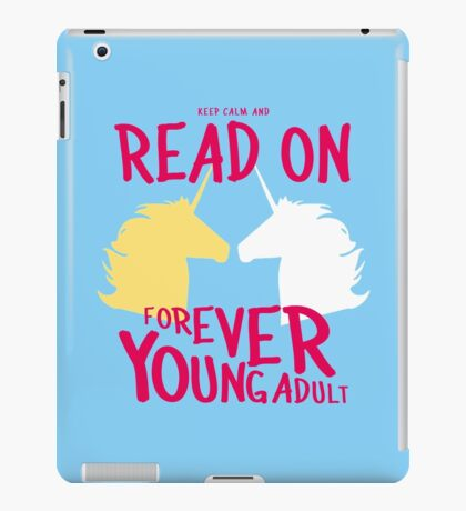 Keep Calm and Read On, FYA iPad Case/Skin