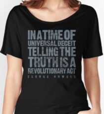 ORWELLIAN TRUTH Women's Relaxed Fit T-Shirt