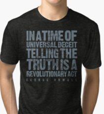 ORWELLIAN TRUTH Tri-blend T-Shirt